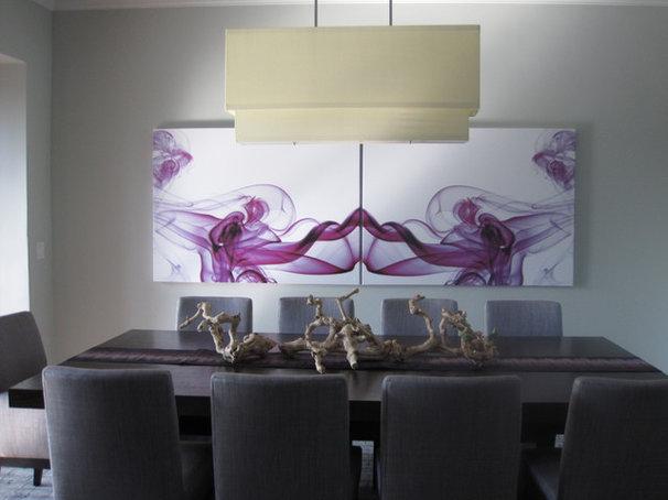 Modern Dining Room by Grainda Builders, Inc.