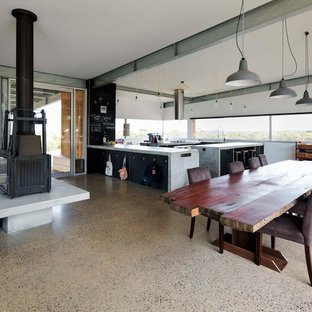 Urban dining room photo in Geelong