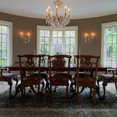 traditional dining room by Monarch Renovations