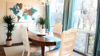 Dining in Turquoise