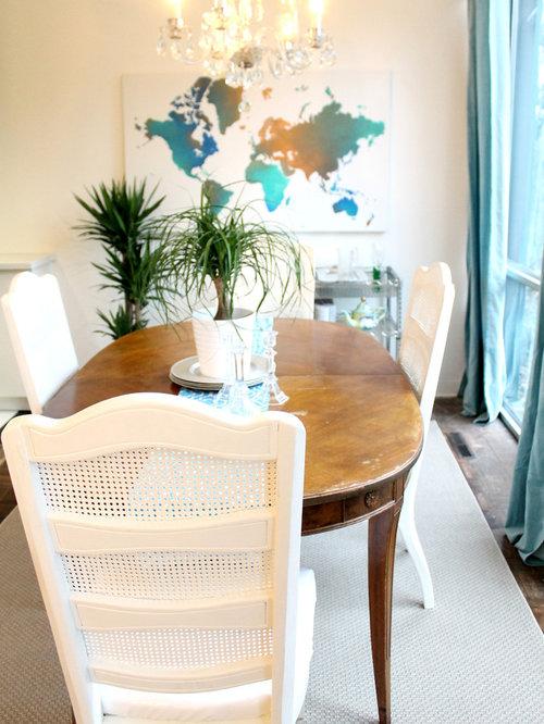 Small modern dining room design ideas renovations photos for Small modern dining room