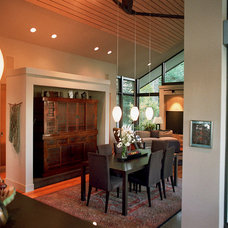 Contemporary Dining Room by Jeff Luth - Soldano Luth Architects