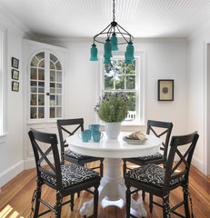 eclectic dining room by Kate Jackson Design