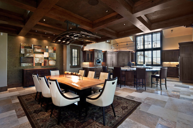 Traditional Dining Room by Jaffa Group Design Build