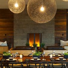 Contemporary Dining Room by Rozewski & Co., Designers, LLC