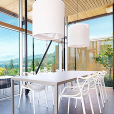 Modern Dining Room by Martin Knowles Photo/Media