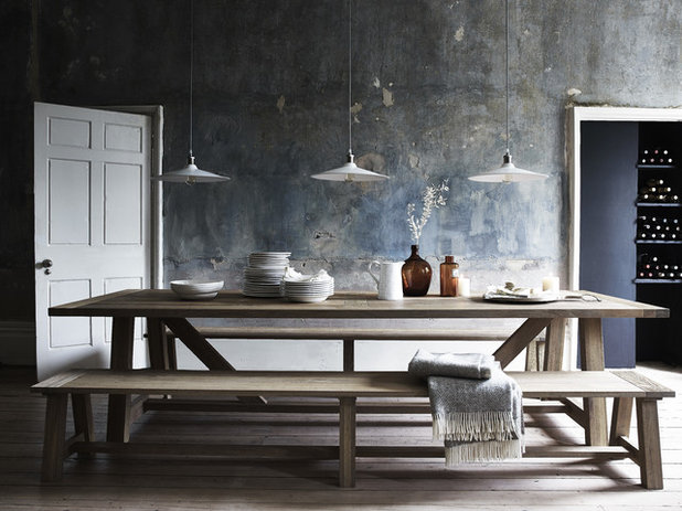 Rustic Dining Room by Neptune