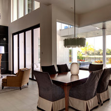 Modern Dining Room by Sunscape Homes, Inc