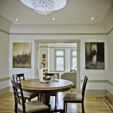 Traditional Dining Room by Andre Rothblatt Architecture