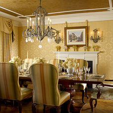 Traditional Dining Room by FAVA DESIGN GROUP