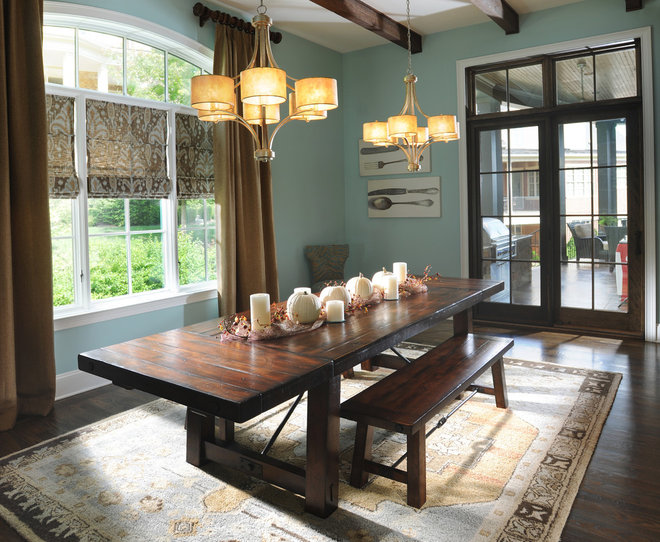 Traditional Dining Room Dining Room #2