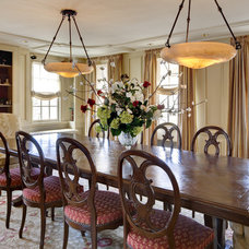 Traditional Dining Room by Lauren Ostrow Interior Design, Inc