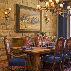 traditional dining room by Rick O'Donnell Architect