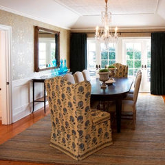 traditional dining room by Abbott Moon