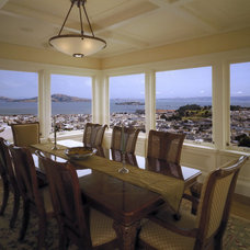 Traditional Dining Room by ACANTHUS Architecture & Design, San Francisco, CA