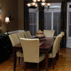 traditional dining room by B INTERIORS
