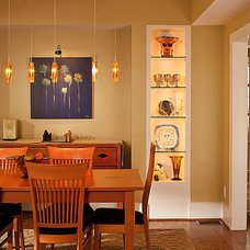 Contemporary Dining Room by Renewal Design-Build
