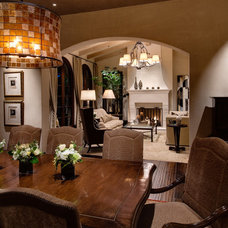 Eclectic Dining Room by Alison Whittaker Design, Inc.