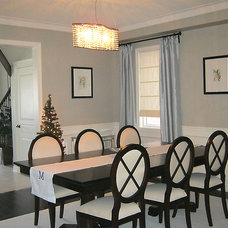Contemporary Dining Room by AM Dolce Vita
