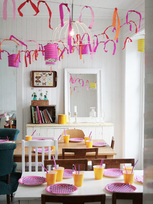 Birthday party ideas decorations houzz for B q dining room ideas