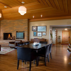 Contemporary Dining Room by Choice Wood Company