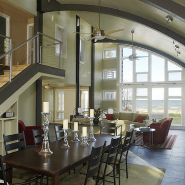 Dining Room & View to Lake