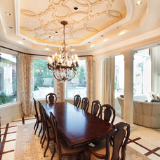 Traditional Dining Room by Anything But Plain, Inc.