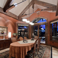 Traditional Dining Room by Aneka Interiors Inc.