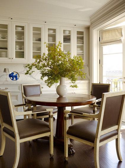 Traditional Dining Room by Martha Angus Inc.
