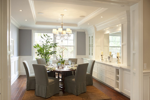 American Traditional Dining Room by Arch Studio, Inc.