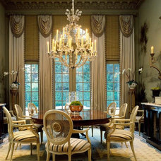 Traditional Dining Room by Art Studio Sergey Konstantinov