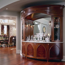 Traditional Dining Room by Erotas Building Corporation