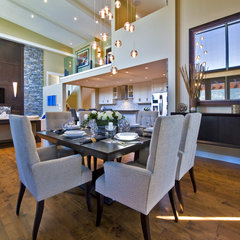 contemporary dining room by Begrand Fast Design Inc.