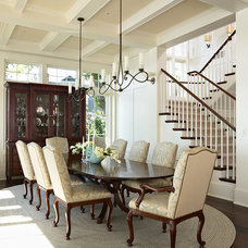 Traditional Dining Room by Billy Beson Company