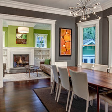 Craftsman Dining Room by Board and Vellum