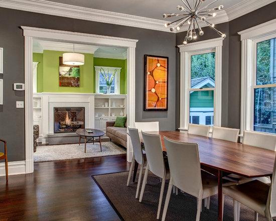 Grey And Lime Green Living Room gray and lime green living room - living room design ideas