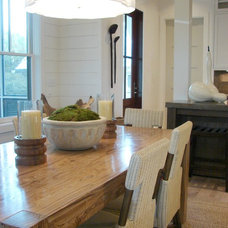 Beach Style Dining Room by Brian Watford ID