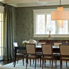 Contemporary Dining Room by Brian Watford ID