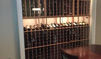 Dining room built-in cellar