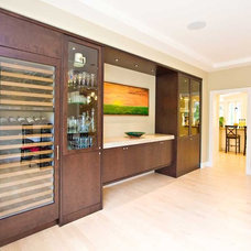 Contemporary Dining Room by Bill Fry Construction - Wm. H. Fry Const. Co.
