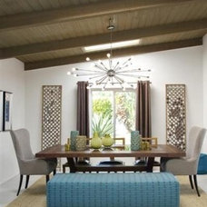 Midcentury Dining Room Dining Room by Christopher Kennedy