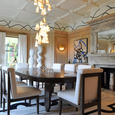 Contemporary Dining Room Dining Room by Heather Hillard Design