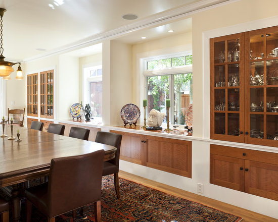 dining room built-ins | houzz
