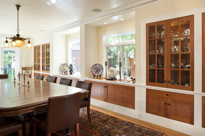 Traditional Dining Room by Camber Construction