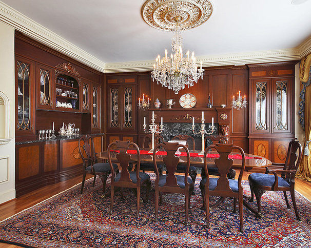 Traditional Dining Room by Capitol Design, LLC