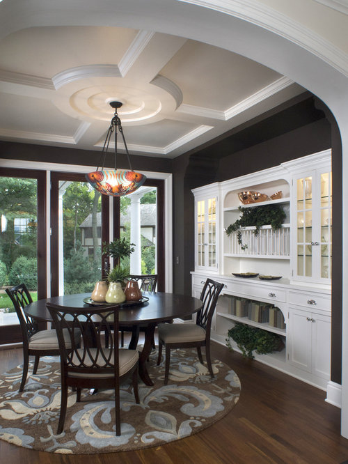traditional dining room decor   African Safari Dining Room Home Design Ideas, Pictures ...