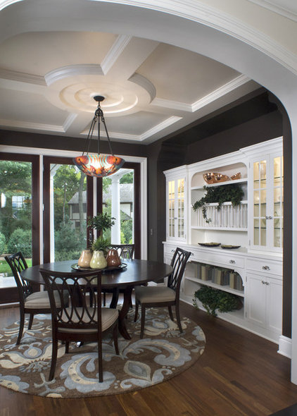 Traditional Dining Room by Carl M. Hansen Companies
