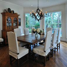 Mediterranean Dining Room by Carla Aston | Interior Designer