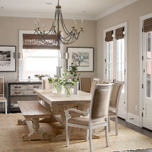 Traditional Dining Room by Chalet