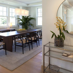 contemporary dining room by Charlie Simmons - Charlie & Co. Design, Ltd.